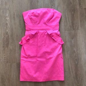 J Crew Barbie Pink Mini Dress